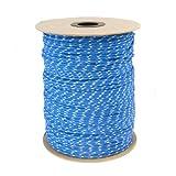20m POLYPROPYLENSEIL 10mm BLAU Polypropylen Seil Tauwerk PP Flechtleine Textilseil