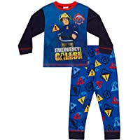 Fireman Sam Emergency Calls Long Pyjamas