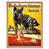 Wee Blue Coo LTD Propaganda Weimar Germany Anti Bolshevik