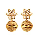 Rajwada Arts Gold colored Brass Designer...