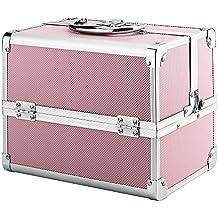 Genérico. Box Mak Box Make Rge Van Case - Estuche para cosméticos y uñas, color rosa