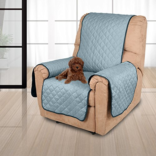 Auralum 1 Seater Recliner Sofa Cover Reversible Sofa Seat