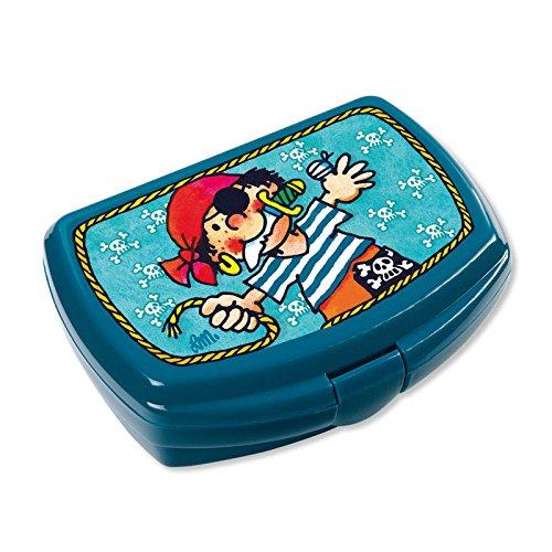 Lutz Mauder Lunchbox mit extra Fach für Obst und Gemüse (Pirat Pit) (Piraten-lunch-box)