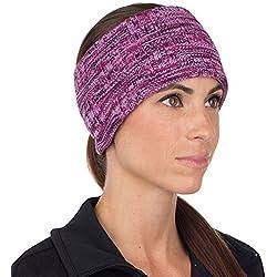 TrailHeads Cinta para el pelo, para Mujer, espacio para la coleta, mujer, light purple