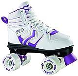 Fila Skates Verve Roller Quad Femme, Blanc/Violet, 35