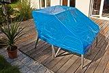Spezial Abdeckplane für Gartenmöbel etc. 5 Jahre UV Beständig 2x2 2x3 3x4 6x1,5m grösse nach Wunsch (2x3m (6 m2 ))