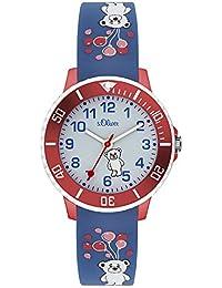 s.Oliver Unisex Kinder-Armbanduhr SO-3562-PQ