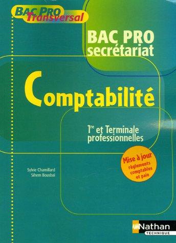 Comptabilité 1e et Tle professionnelles Bac Pro secrétariat