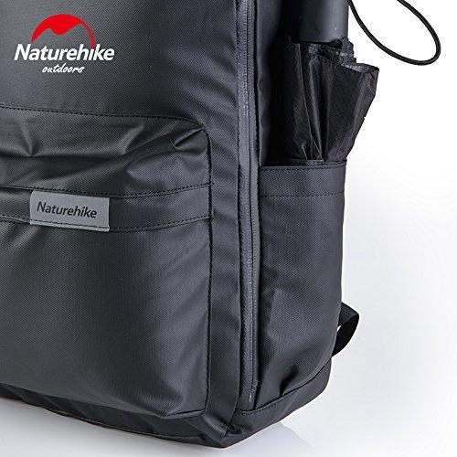 Naturehike Outdoor Unisex Wasserdichte Rucksack Reise Rucksack Sport Tasche fur Laptop 23L Army green