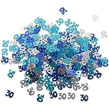 MagiDeal Juguetes Confeti Asperja Tabla Plástico Fiesta Cumpleaño Aniversario Decoración - Multicolor 30