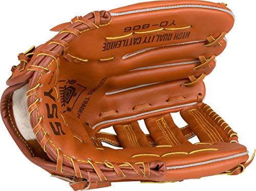 Abbey Baseball Handschuh rechts M Hellbraun