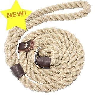Bisley Dog Lead Natural Rope 12mm