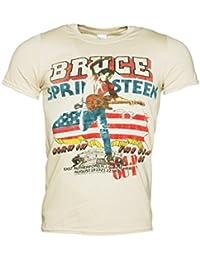 Bruce Springsteen 85 US Tour Herren T Shirt Ecru