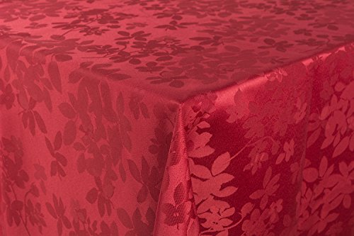 Nappe Rectangulaire Polyester 140 x 240 cm Rouge