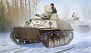 Hobbyboss 1: 35Escala Kit de Modelo Ruso t-40s Tanque de la luz (Gris)
