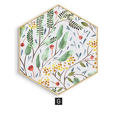 Zum Aufhängen Gemälde Living/Esszimmer Traceless Dekoration Schlafzimmer Nachttisch Art Garten Reinigen Wandmalereien Sofa Wände, g, M