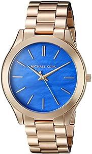 Michael Kors Slim Runway Tono Dorado 3Mano Reloj de Michael Kors Watches