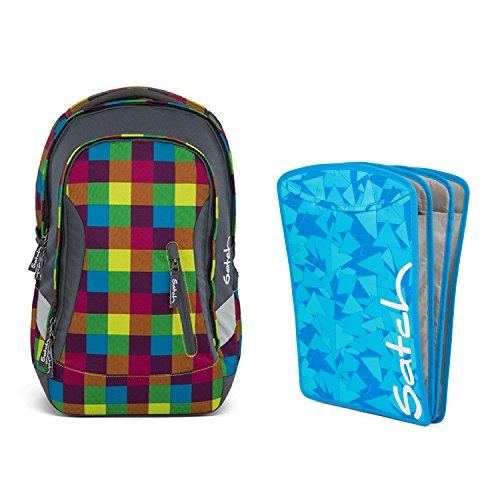 satch Sleek Beach Leach 2-teiliges Set Rucksack & Triple Flex blau