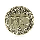 Haorw JA oder Nein Münze GEDENKMÜNZE & zum Sammeln Geschenk