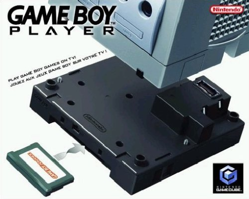 GameCube - Gameboy Player (Cube Game Game Boy Adapter)