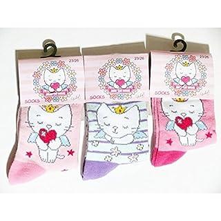 Socken Angel Cat Sugar Gr. 3 Jahre, Mehrfarbig - Mehrfarbig