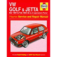VW Golf & Jetta : Mar 1984 to Feb 1992 (A to J registration)