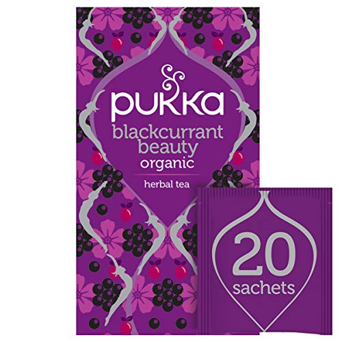 Pukka Blackcurrant Beauty Fruit Tea 20 sachets