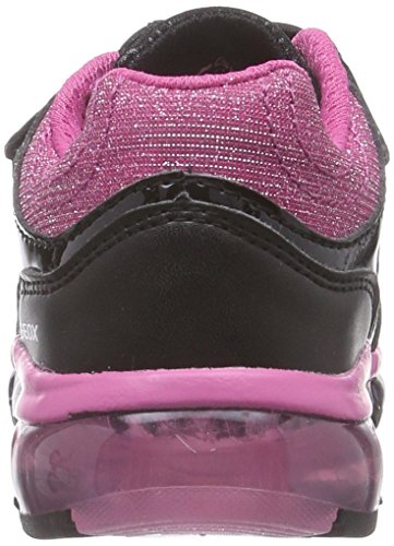 Geox Android G B, Baskets Basses Fille Multicolore (C0922)