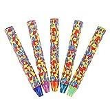 5 Pièces Crayon Arc En Ciel, Cizen Couleur Crayon 3 en 1 Ensemble - Crayons de Couleurs Assorties Sans Bois Peinture Crayons pour Dessins de Bricolage et Dessins d'enfants