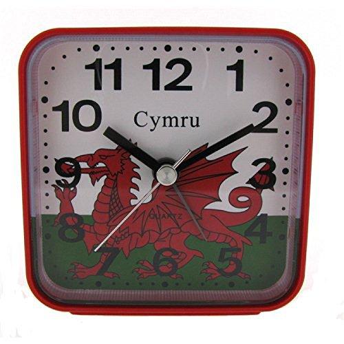 PWL Red Wales Funk Weckeruhr, NUR BRITISCHES FUNKSIGNAL!