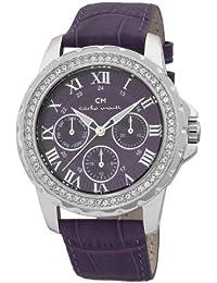 Carlo Monti Damen-Armbanduhr Analog Quarz Leder CM600-190