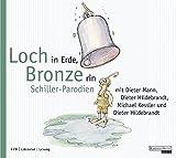 Loch in Erde, Bronze rin: Schiller-Parodien
