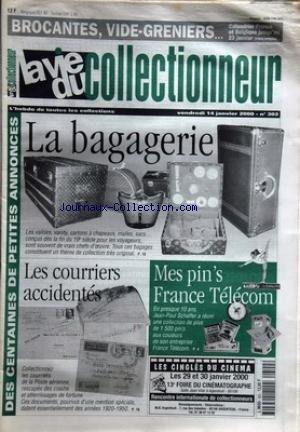 vie-du-collectionneur-la-no-302-du-14-01-2000-brocantes-vide-greniers-calendrier-france-et-belgique-