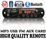 #5: Bluetooth FM USB AUX Card MP3 Stereo Audio Player Decoder Module Kit with Remote