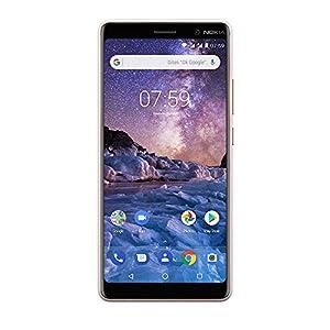 Nokia 7 Plus Smartphone (15,24 cm (6 Zoll), FHD IPS Display, 64 GB interner Speicher und 4 GB RAM, Dual-Sim, Android 8.0 (Oreo)) weiß