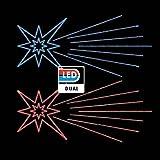 Prilux motivos - Motivo star comet dual rojo/azul