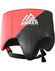 Amber Fight Gear Boxing No Foul - Peto de artes marciales, color negro, talla L
