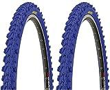 2 x Kenda MTB Reifen farbige Fahrradreifen 26 Zoll 50-559
