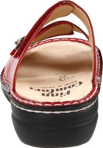 Finn ComfortMenorca-Soft - Sandali a Punta Aperta Donna Rosso (Rosso (rosso))