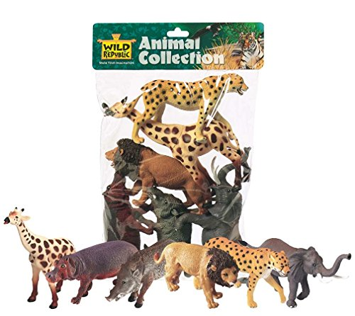 Wild Republic 64003 - Collection of games Africa, 6 parts
