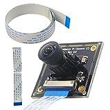 Per Raspberry Pi grandangolo 160° Fisheye Lens HD Camera Module, Haiworld 5MP...