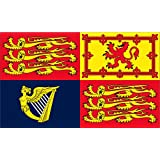 5Ft X 3Ft 5'X3' Flag Uk Royal Standard