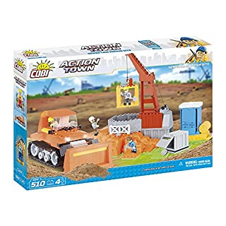 COBI 1674 Action Town - Heavy Machinery (510 Pcs) Toy, red