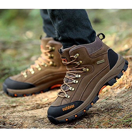 da GUA ed escursionismo uomo XI Scarpe Marrone camminata qwOawv