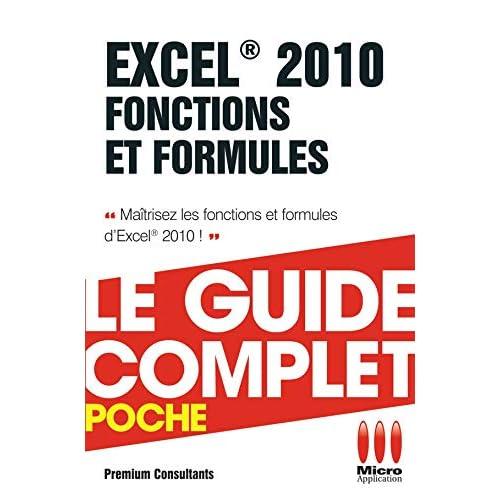 Excel 2010 Fonctions et Formules