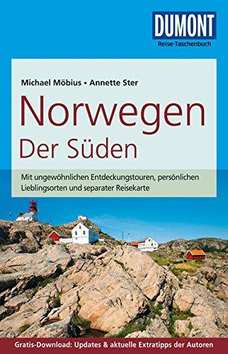 Preisvergleich Produktbild DuMont Reise-Taschenbuch Reiseführer Norwegen,  Der Süden: mit Online-Updates als Gratis-Download