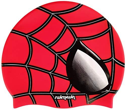 Swimxwin cuffia in silicone spider | cuffia da nuoto | cuffia da piscina | grande comfort e aderenza | design e stile italiano