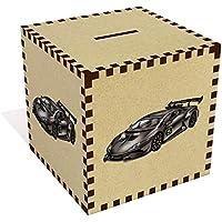 Preisvergleich für Azeeda Groß 'Rennauto' Sparbüchse / Spardose (MB00072098)