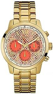 Guess - W0330L11 - Montre Femme - Quartz - Analogique - Bracelet Acier inoxydable doré