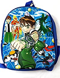 CoolGenX Ben10 School Bag With 3D Effect Suitable For Kids Upto 6 Years